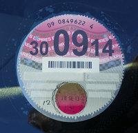 Car-tax-disc