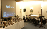 Vauxhall 30-98 and Trophies on display at VSCC Awards Dinner_VSCC Archive
