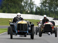 Dick Baddiley & Edwardian Racing Trophies - David Ozanne (Delage Coupe de L