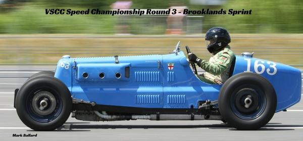 VSCC Speed Championship Round 3 - Brooklands Sprint
