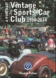 """A Portrait of the Vintage Sports-Car Club, 1934-2014"" (Book) cover"