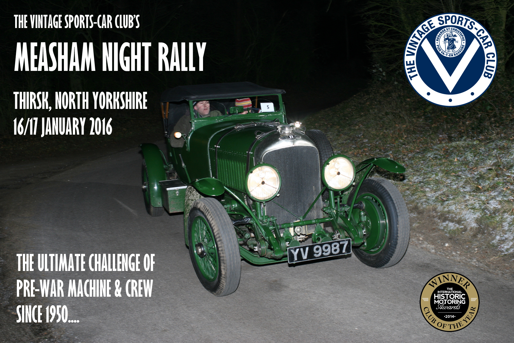 Measham Rally 2016 - Late Entries Available! cover