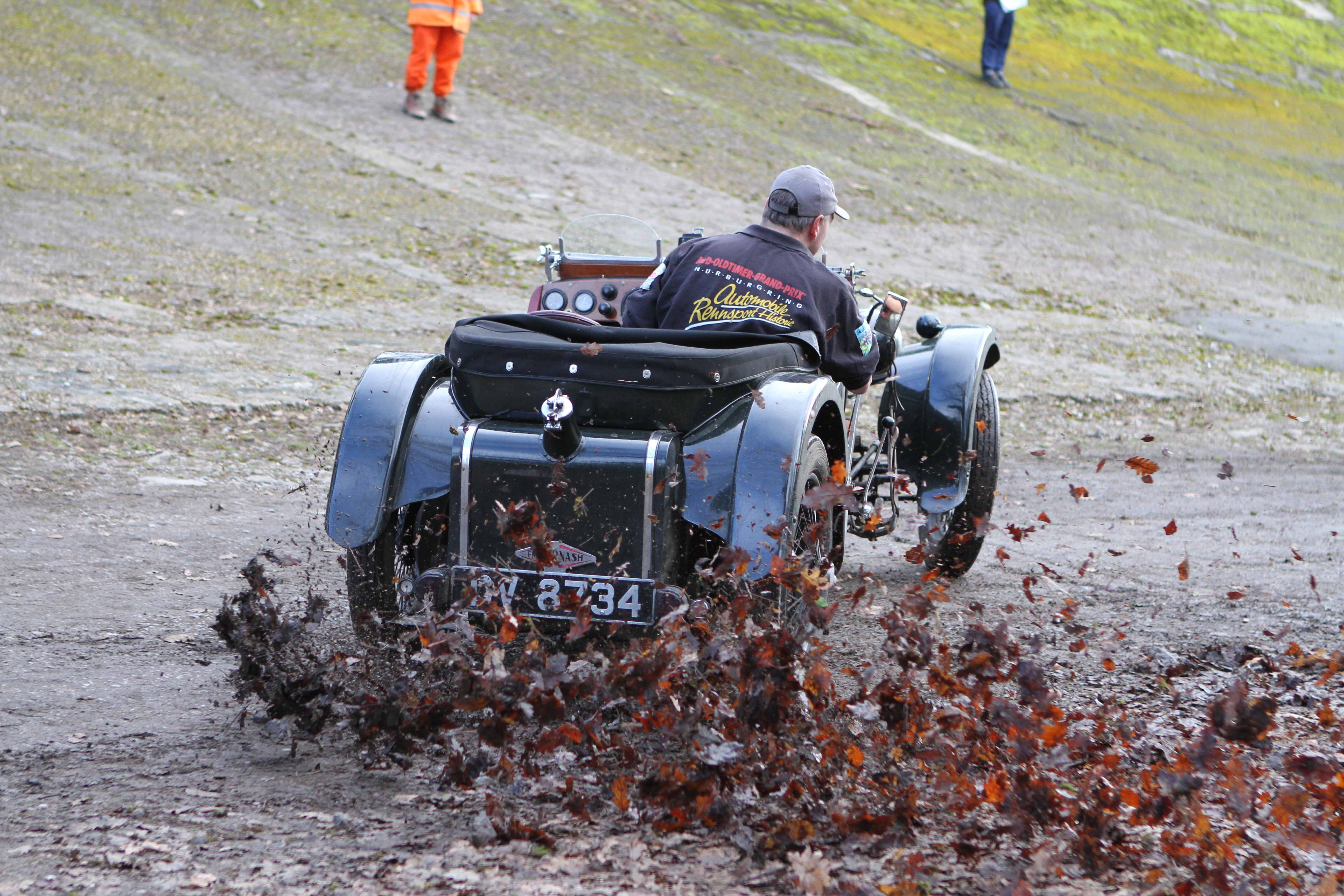 Join the VSCC at Brooklands for our annual New Year Driving Tests - Late Entries Available! cover