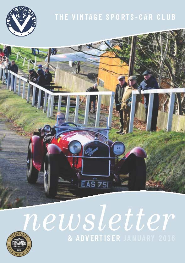 January 2016 Newsletter Now Available to Download cover