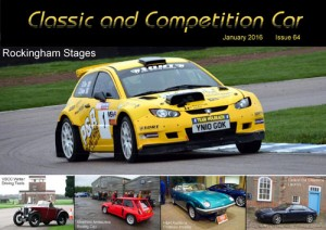 Classic and Competition Car – January 2016 cover