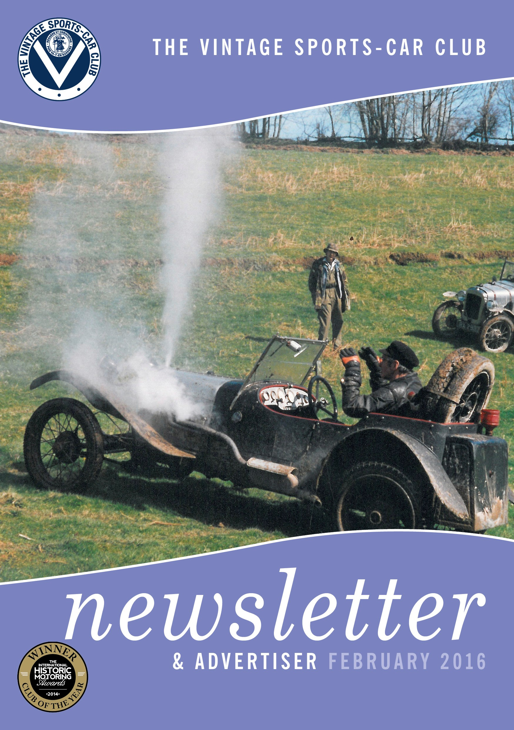 February 2016 Newsletter Now Available to Download cover