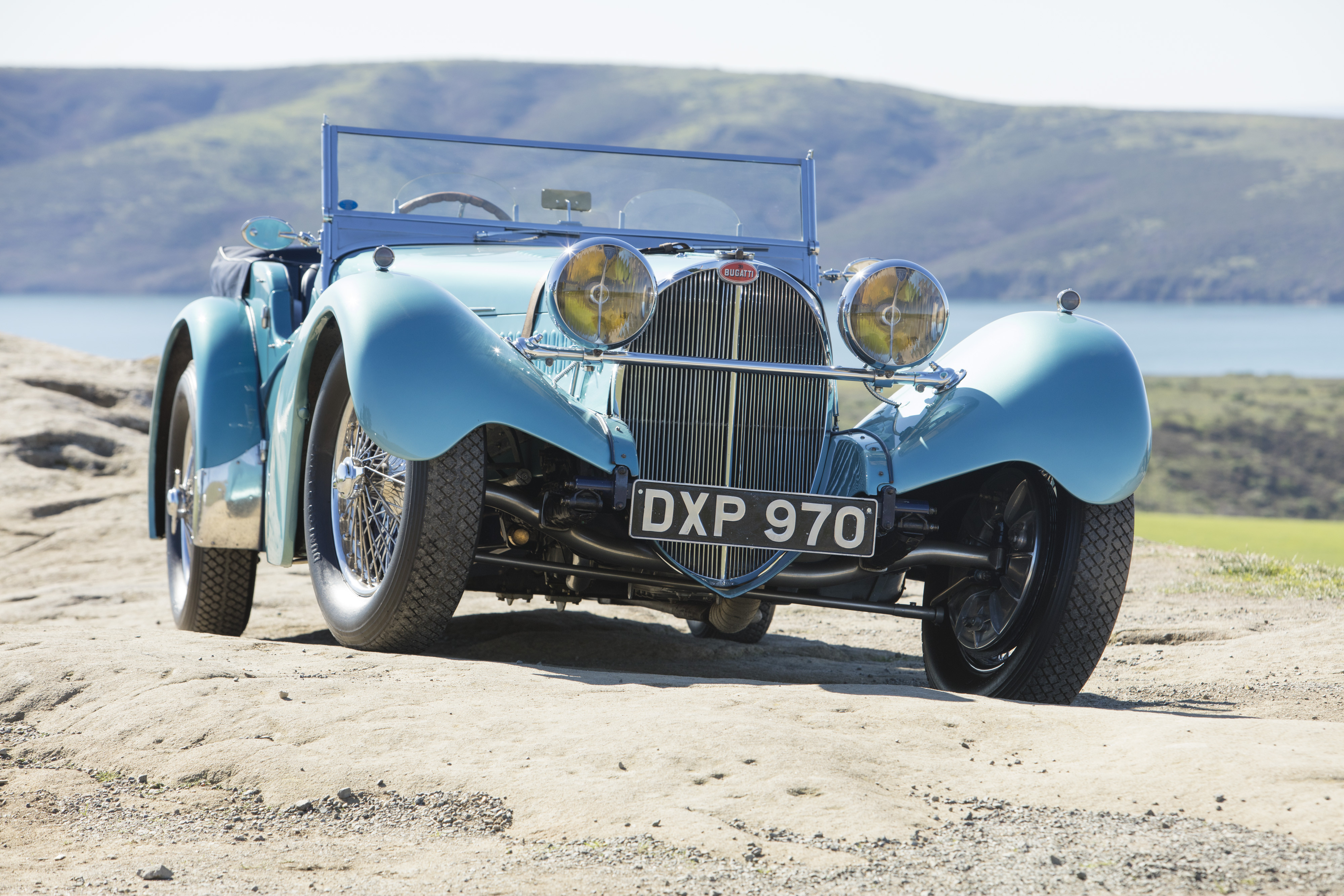 ONE OF THE WORLD'S MOST DESIRABLE COLLECTOR CARS COMES TO BONHAMS AUCTION – 1937 BUGATTI 57SC SPORTS TOURER BY VANDEN PLAS cover