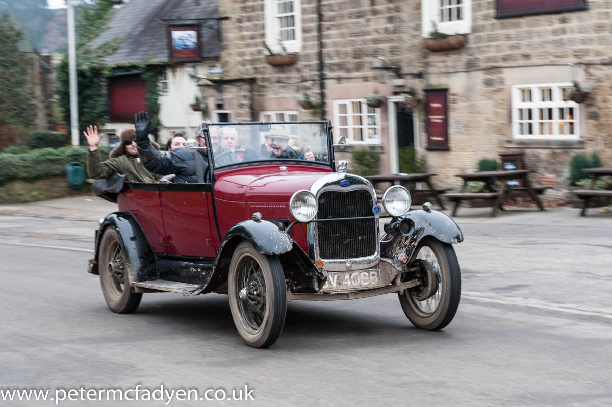 Celebrate Mothering Sunday on the VSCC Derbyshire Tour cover