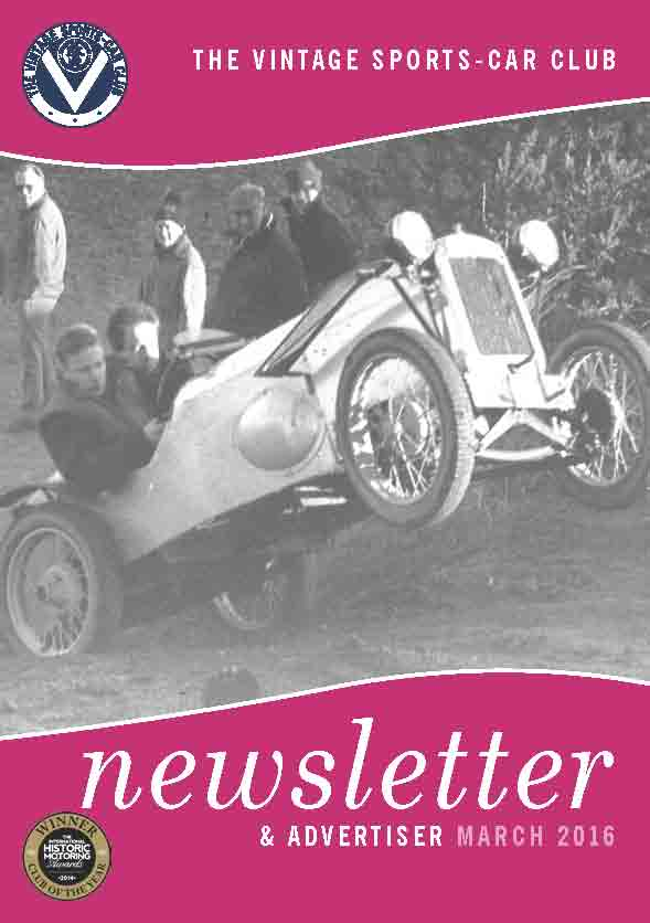 March 2016 Newsletter Now Available to Download cover