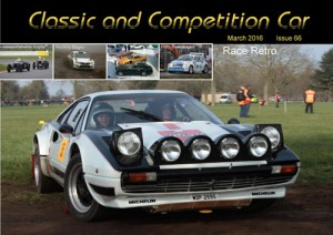 Classic and Competition Car – March 2016 cover