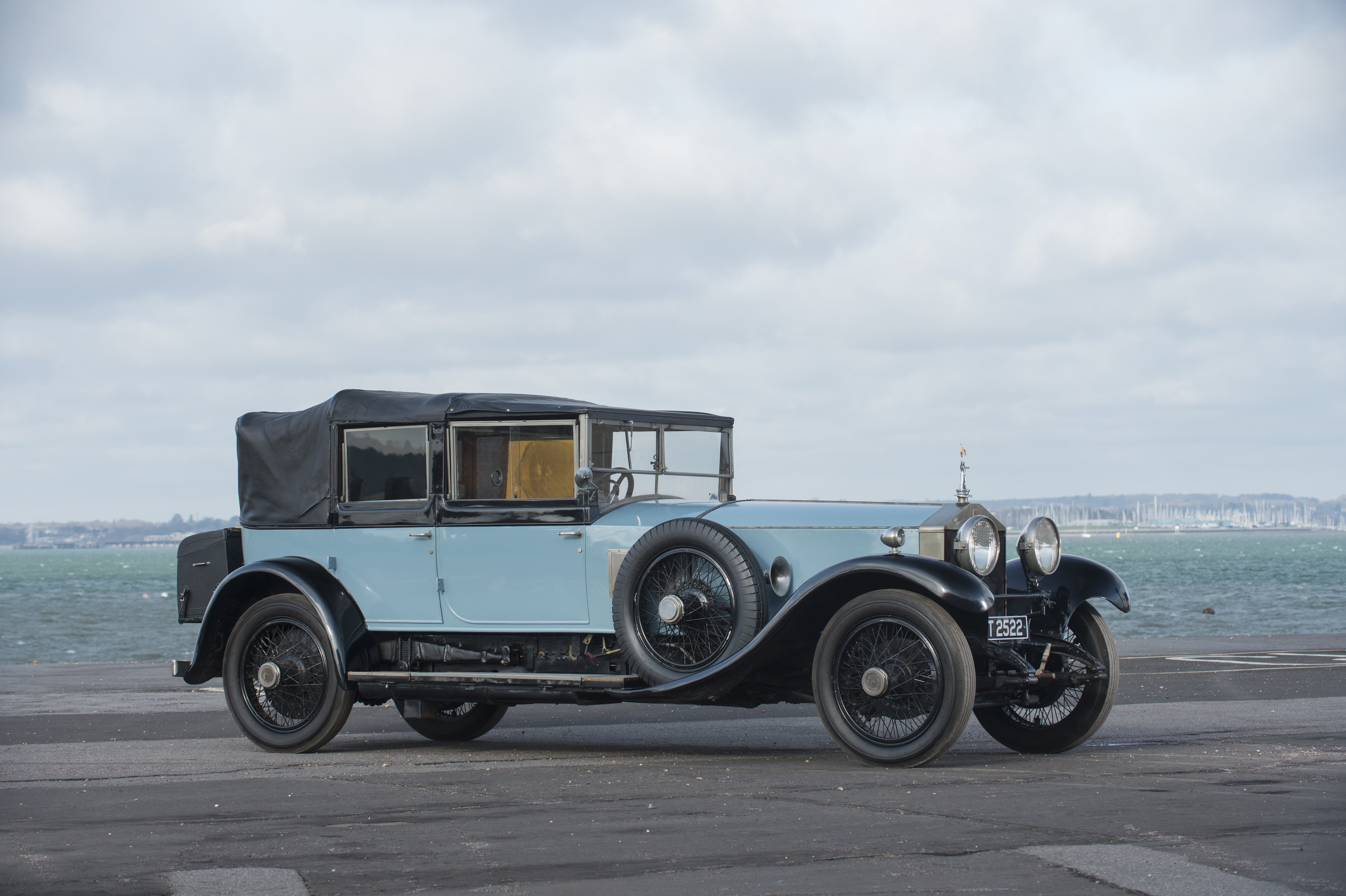 LORD MOUNTBATTEN'S LONG-LOST ROLLS-ROYCE OFFERED AT BONHAMS  cover