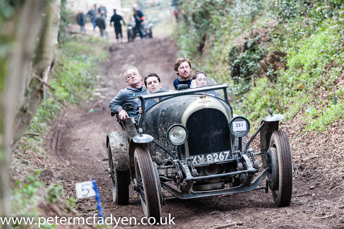 Brewster leads the way at the VSCC Herefordshire Trial cover