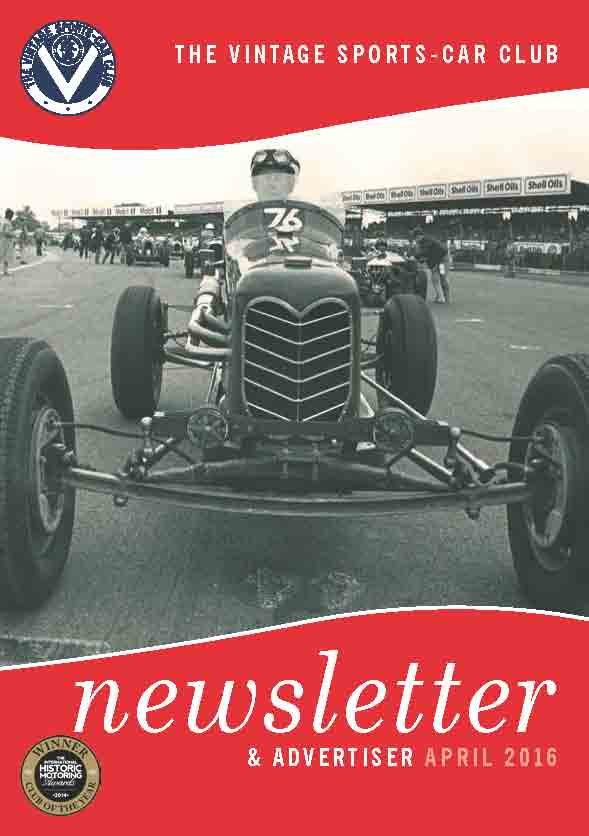 April 2016 Newsletter Now Available to Download cover