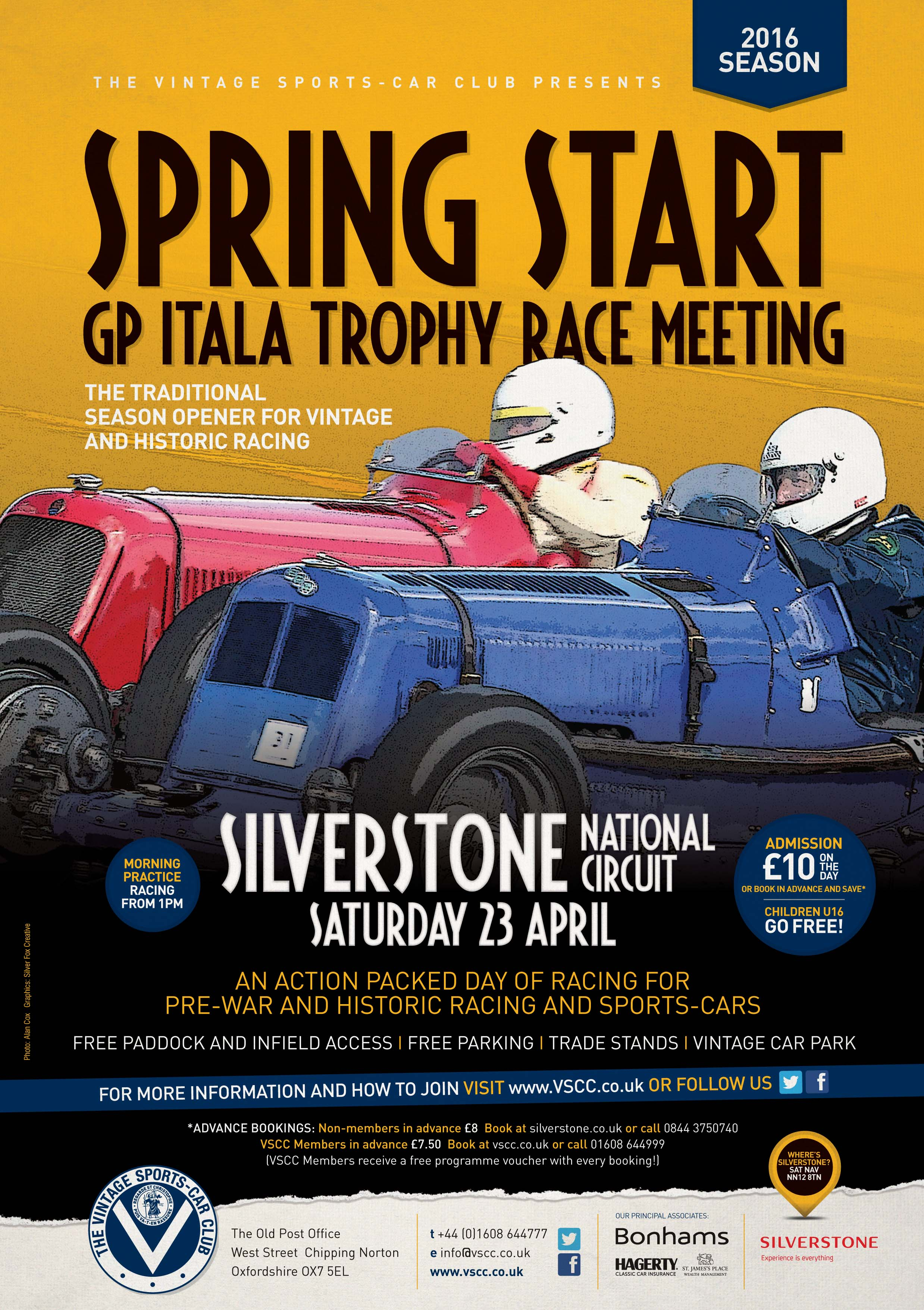 VSCC 'Spring' into action at Silverstone tomorrow! cover
