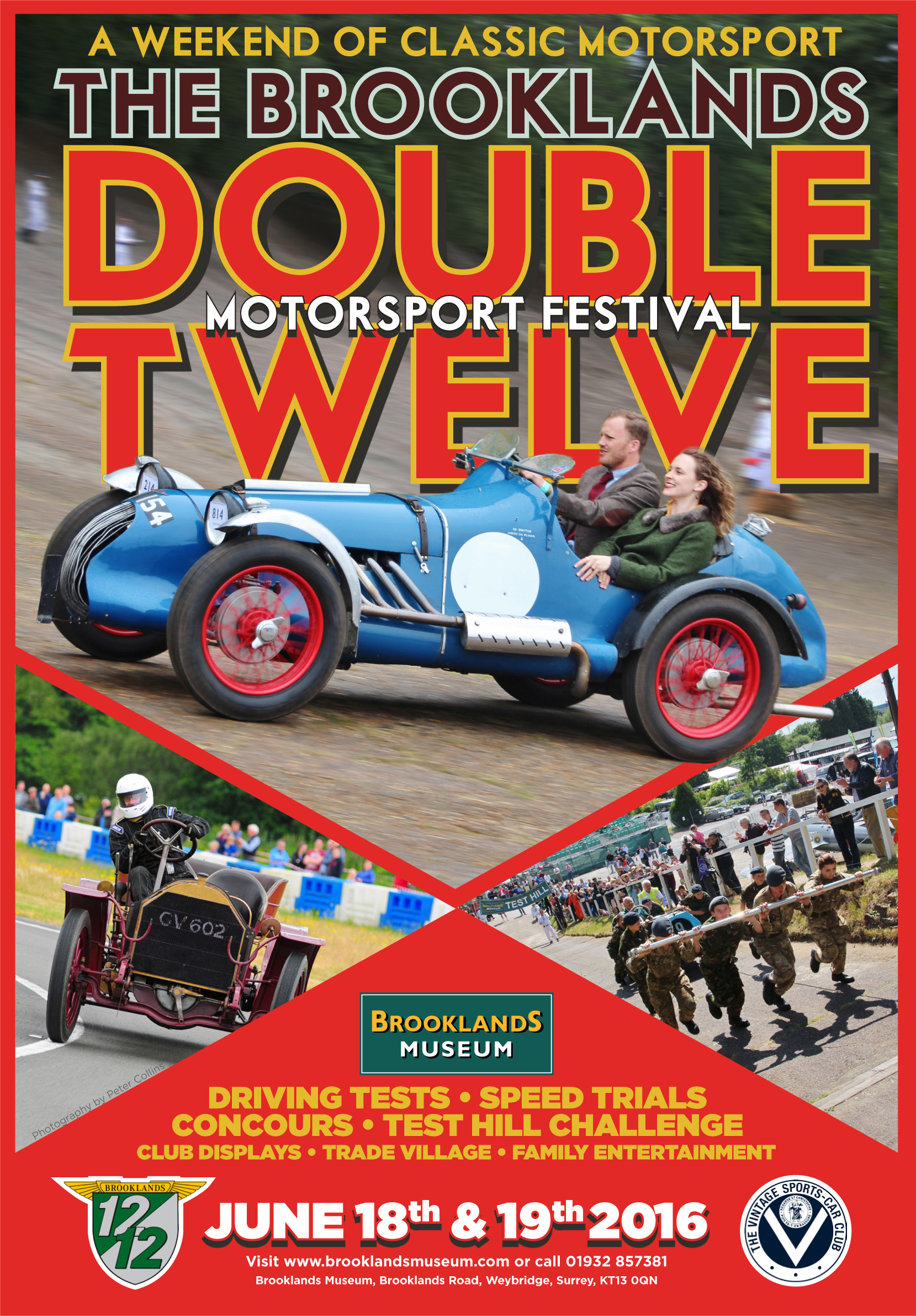 VSCC and Brooklands Join Forces for the Double Twelve Motorsport Festival this weekend!  cover