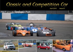 Classic and Competition Car – April 2016 cover
