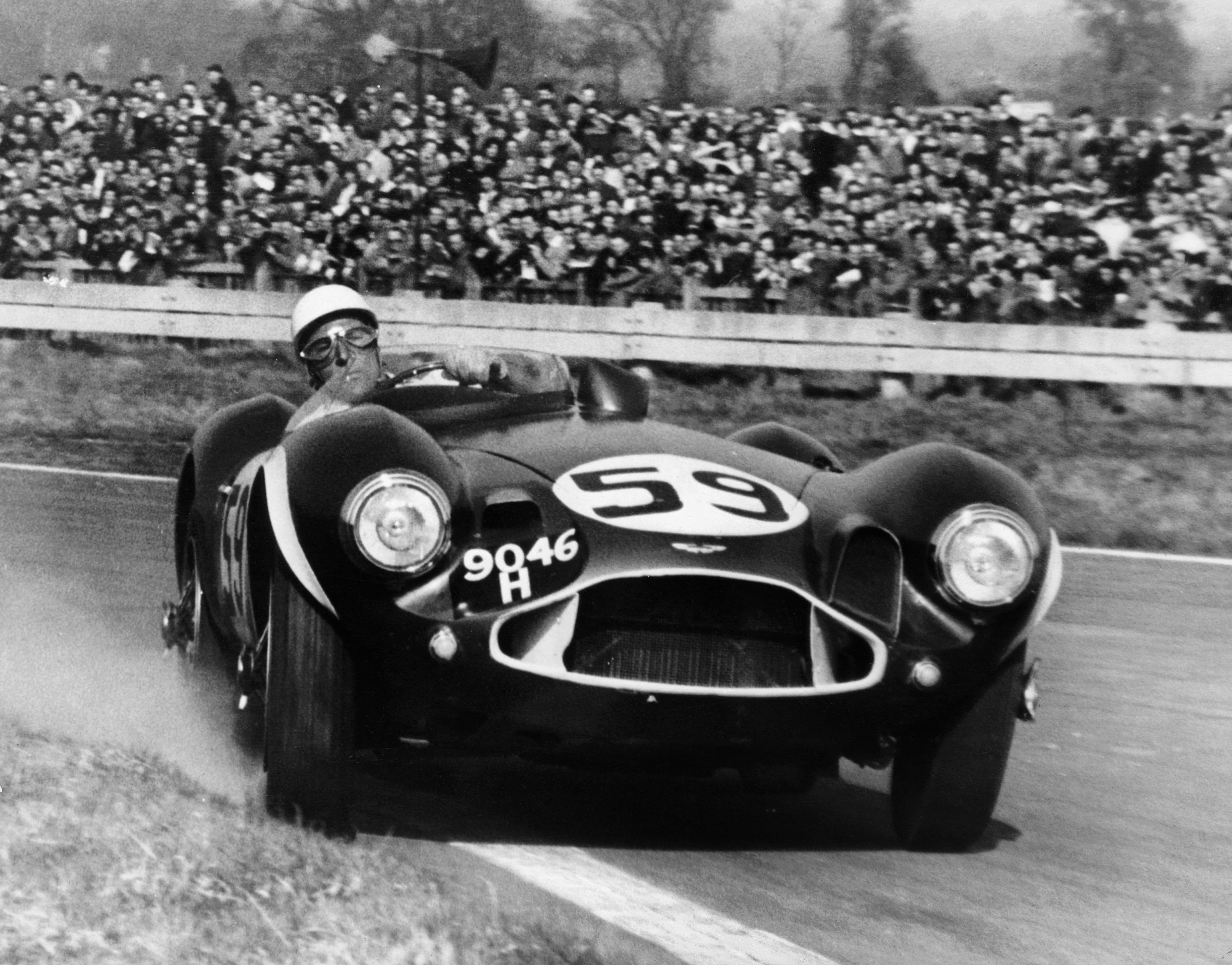 THE 1954 ASTON MARTIN DB3S: CAR OF THE SILVER SCREEN RACED BY THE GREAT STIRLING MOSS NOW OFFERED AT BONHAMS  cover