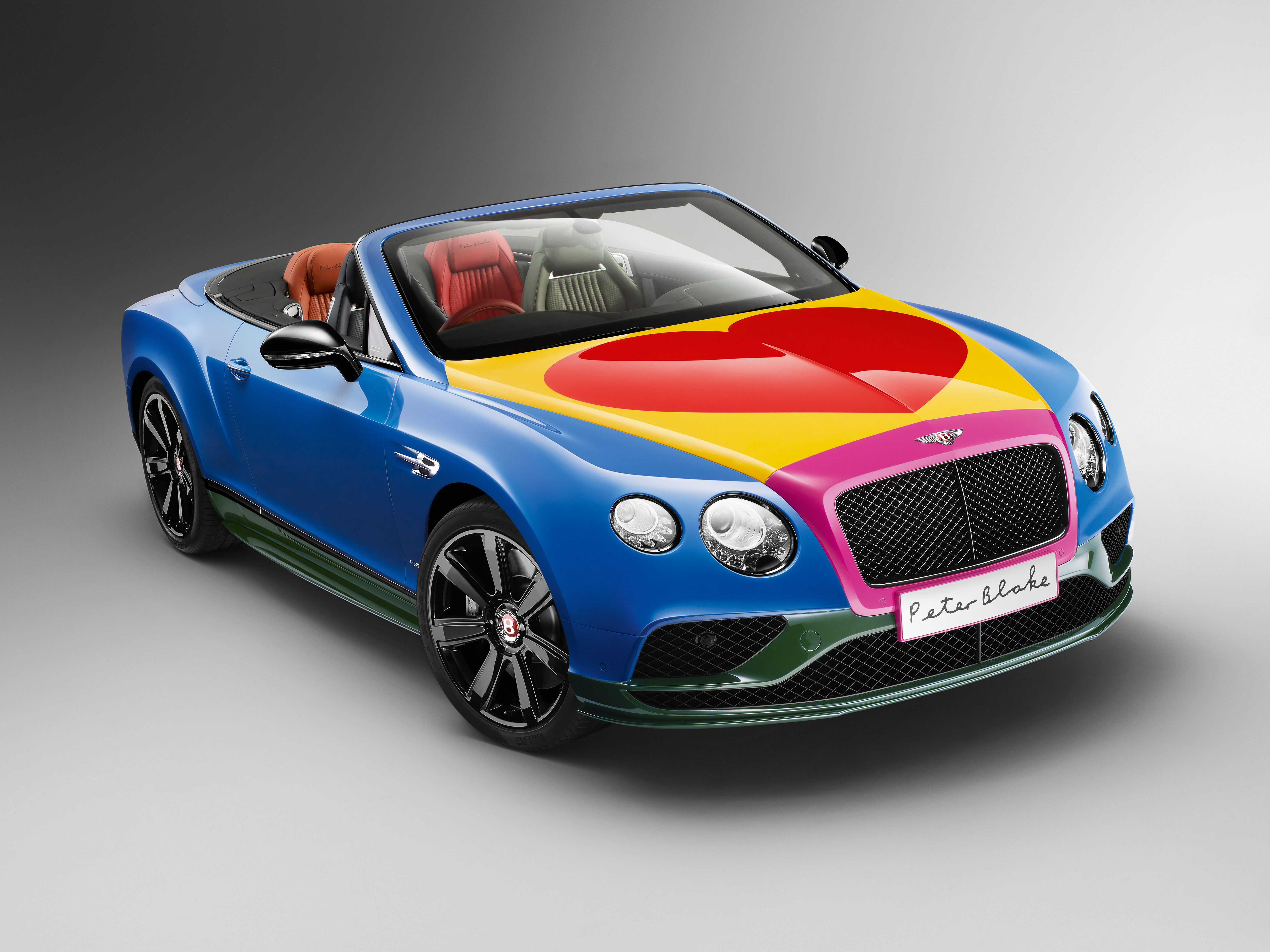 SIR PETER BLAKE POP ART BENTLEY TO BE AUCTIONED FOR CHARITY AT BONHAMS FESTIVAL OF SPEED SALE  cover