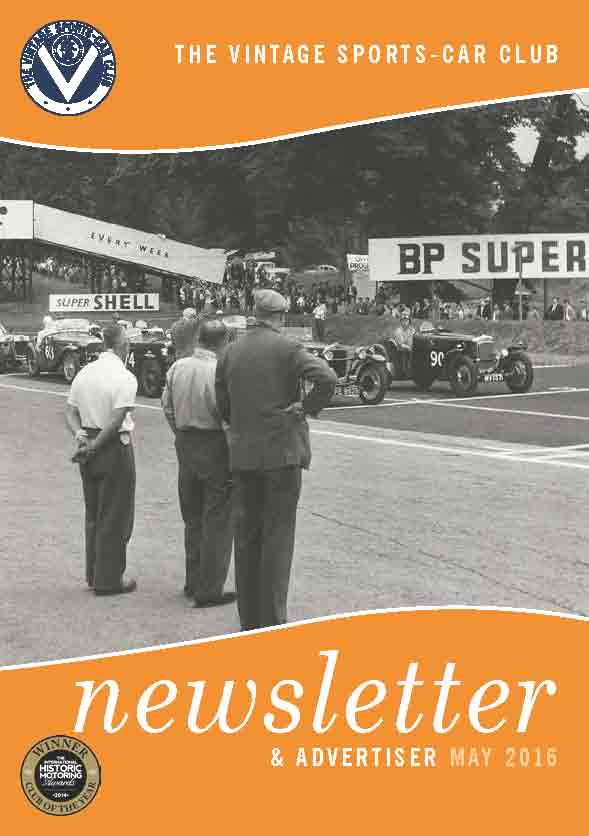 May 2016 Newsletter Now Available to Download cover
