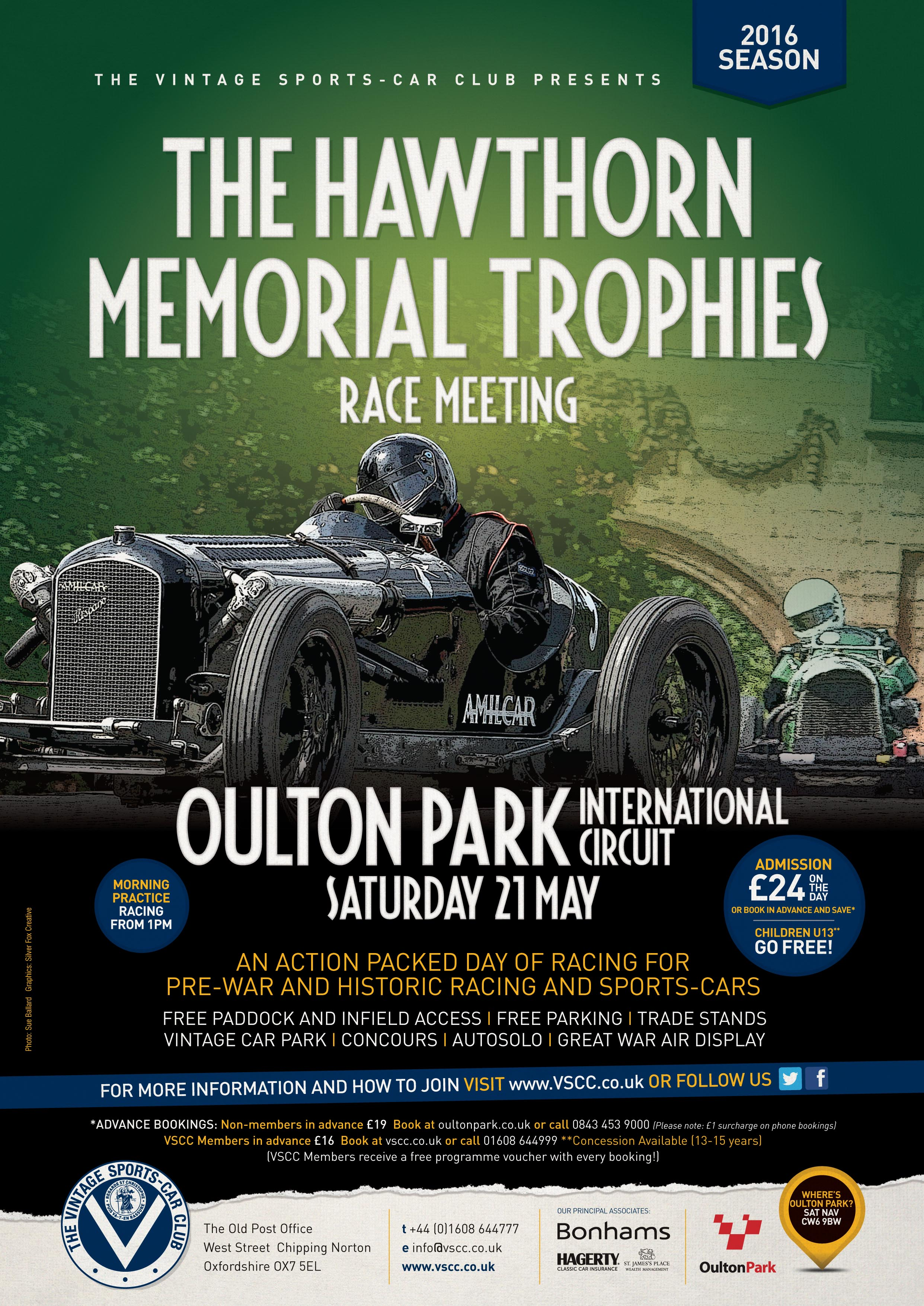 VSCC return to glorious Cheshire to honour Mike Hawthorn at Oulton Park tomorrow cover