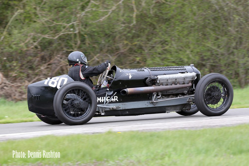 Successful opening to the 2016 VSCC Speed Season at Curborough cover