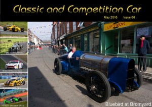 Classic and Competition Car – May 2016 cover