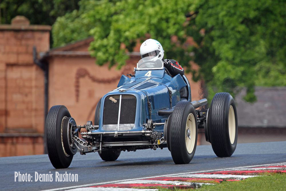 Topliss on top at VSCC Oulton Park cover