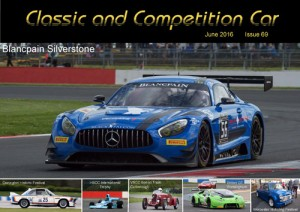 Classic and Competition Car – June 2016 cover