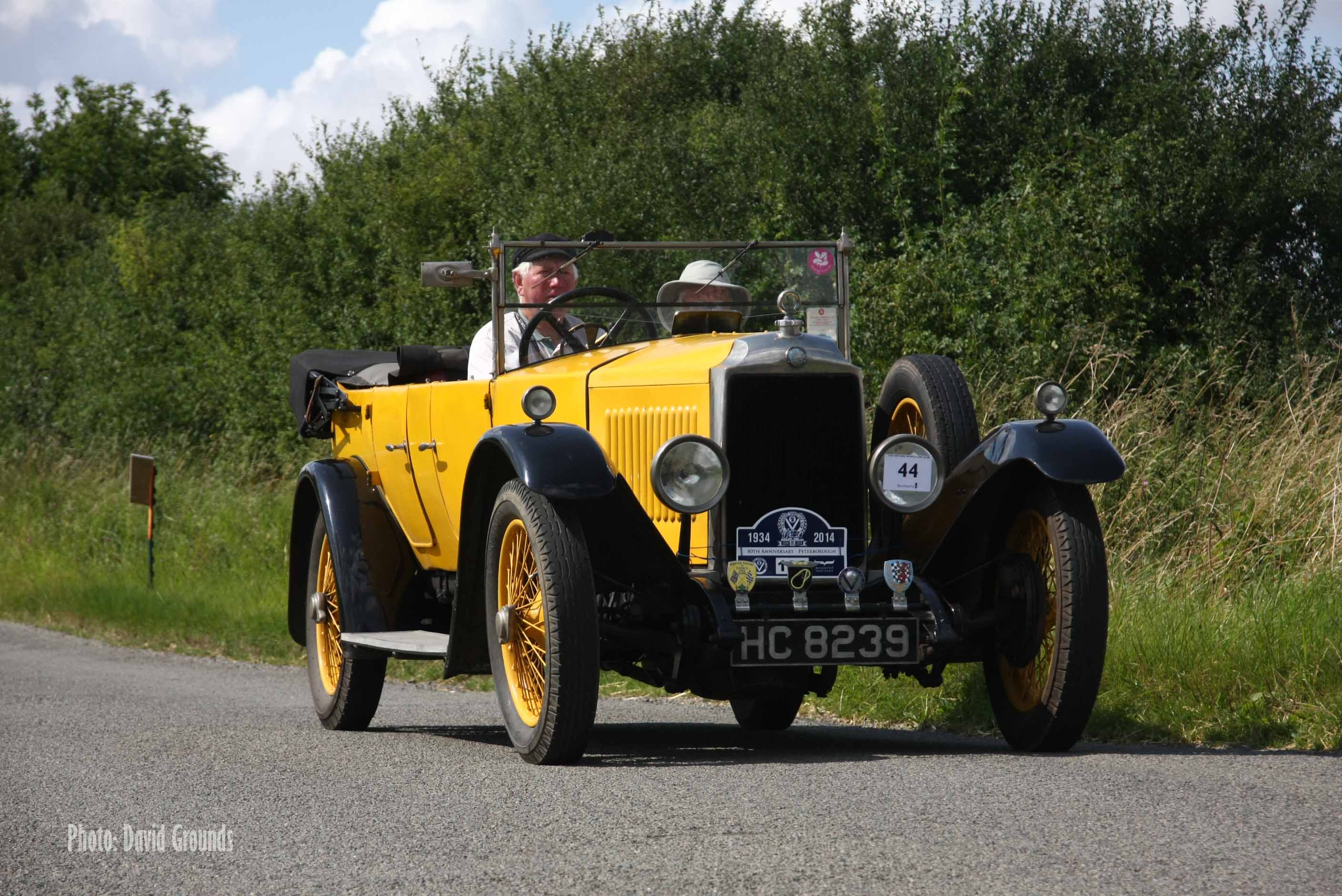 Last Chance to enter the VSCC Hertfordshire Tour cover