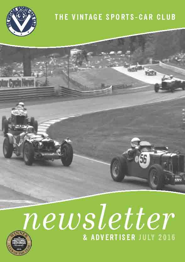 July 2016 Newsletter Now Available to Download cover