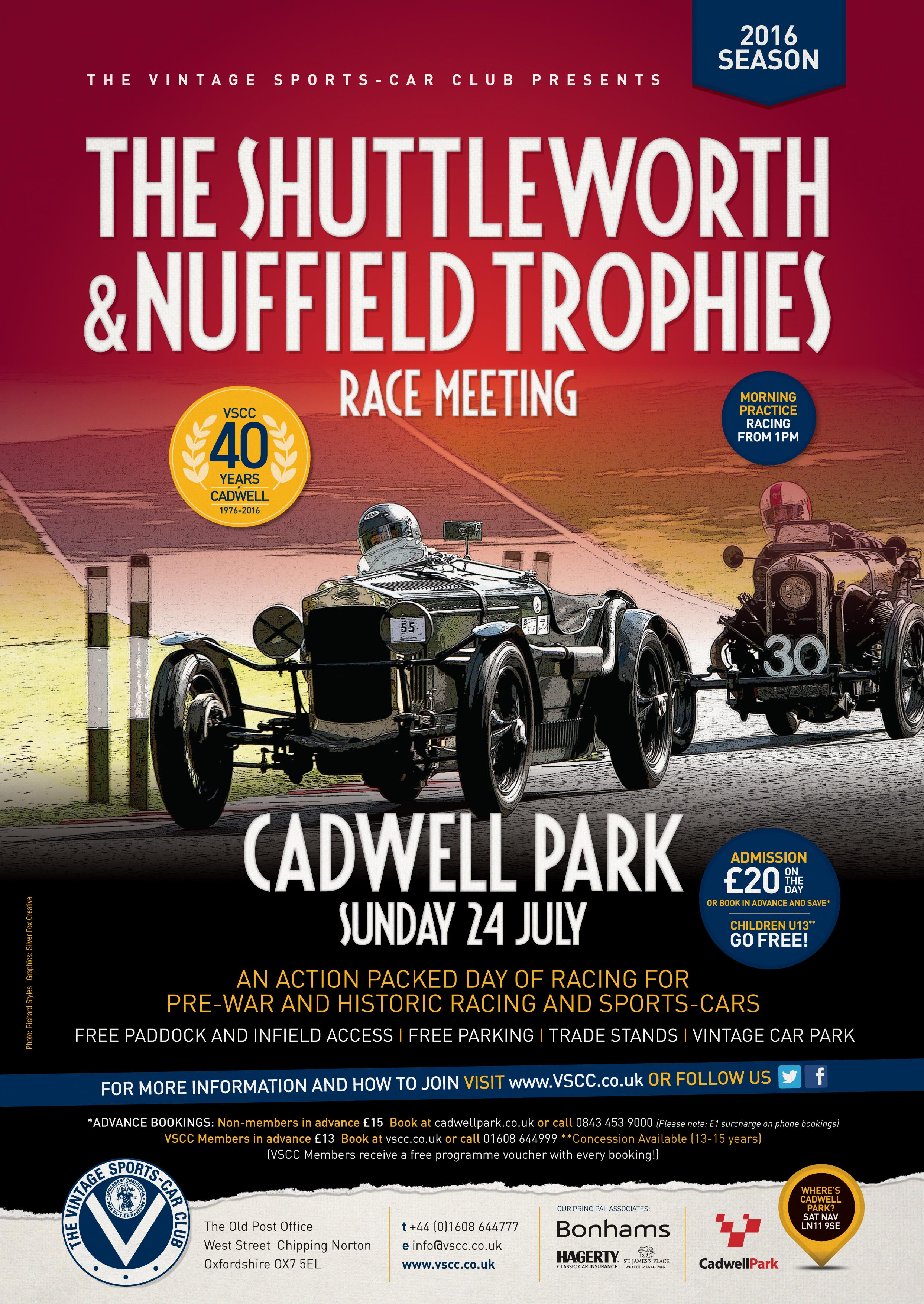 VSCC Cadwell Park – Coming This Weekend! cover
