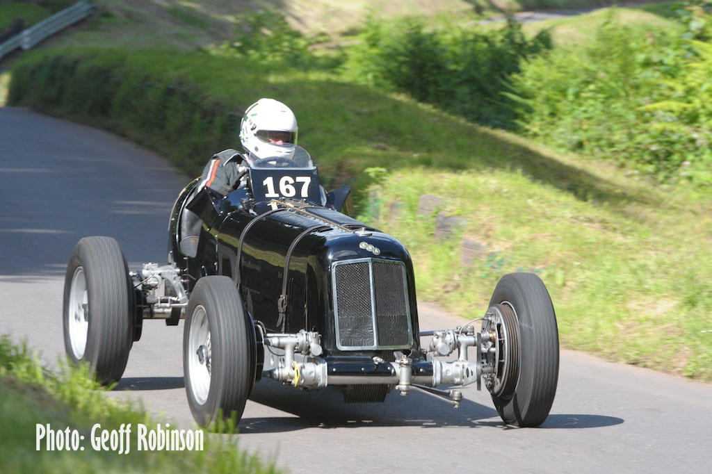 ERA R4D steals the show at another Vintage Shelsley Walsh Hill Climb cover