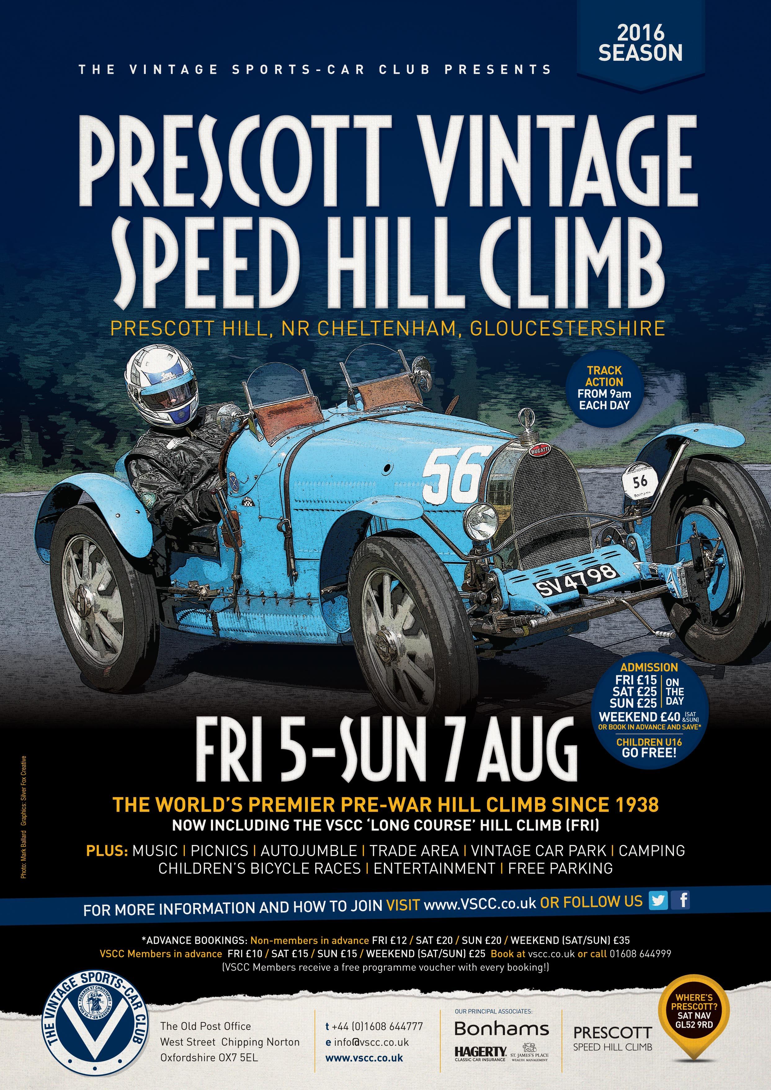 VSCC Prescott is go – the best in Vintage motorsport this weekend cover