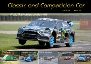 Classic and Competition Car – July 2016 cover