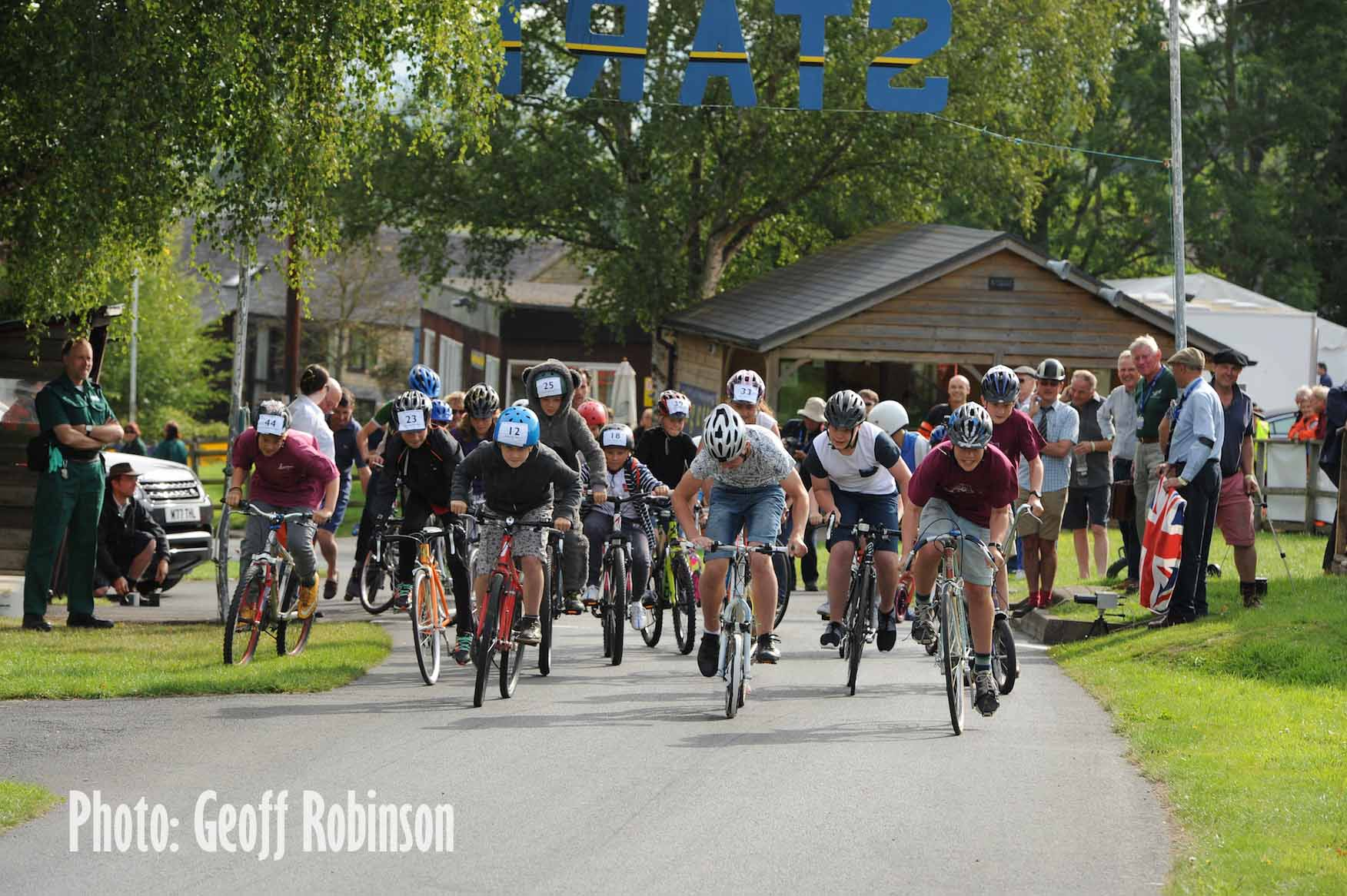 VSCC Prescott Bicycle Races and 5th Annual Pedal-Car Grand Prix – Sunday 7 August cover