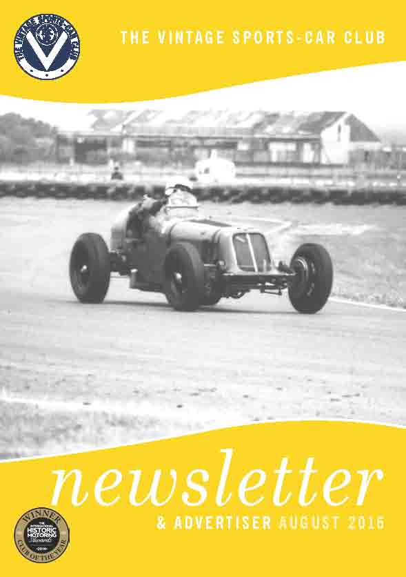August 2016 Newsletter Now Available to Download cover