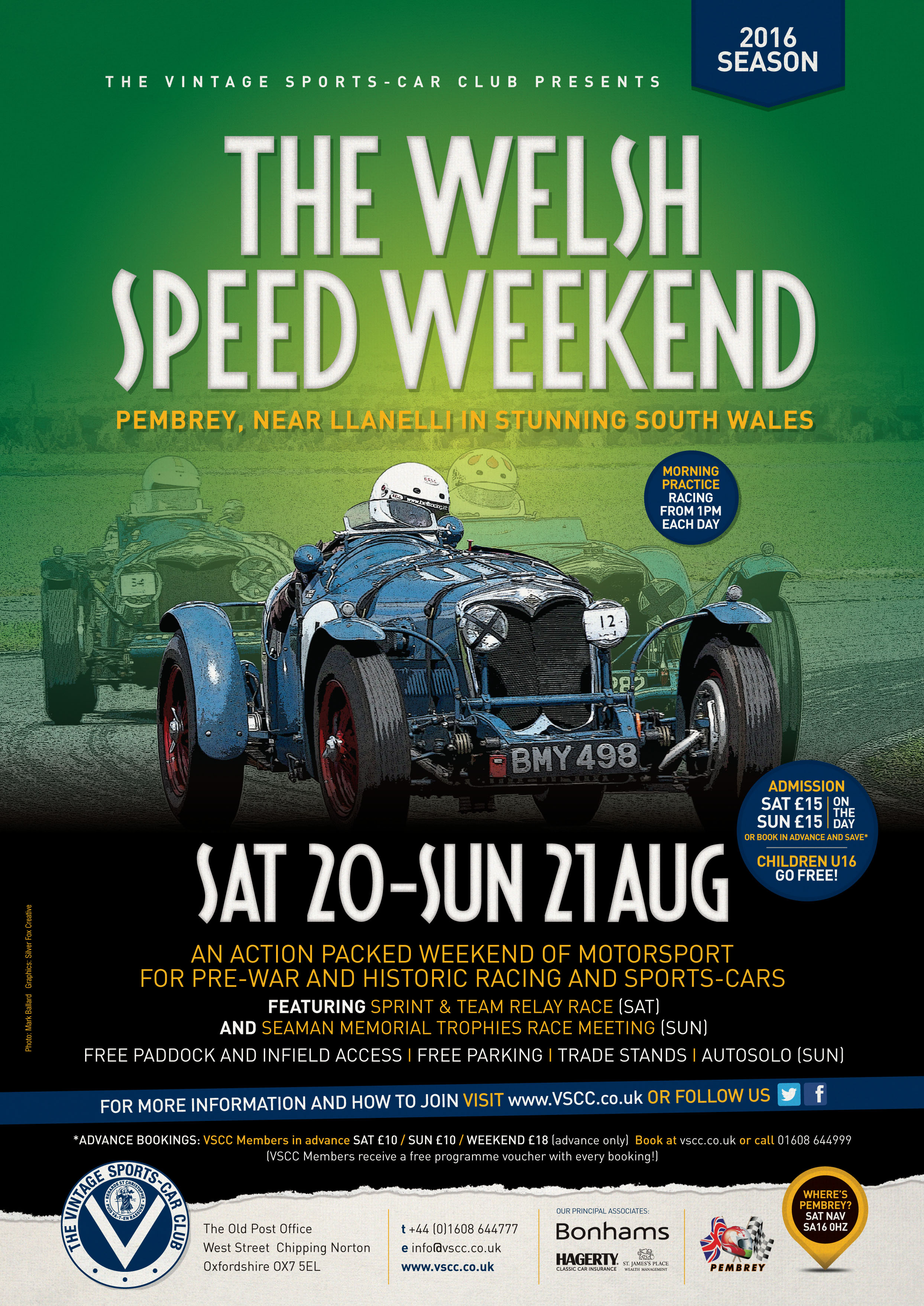 Pembrey awaits the VSCC for an epic weekend of Vintage motorsport cover