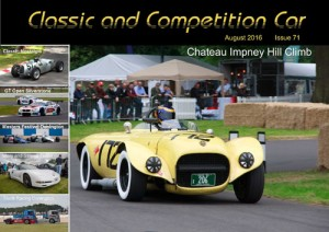Classic and Competition Car – August 2016 cover
