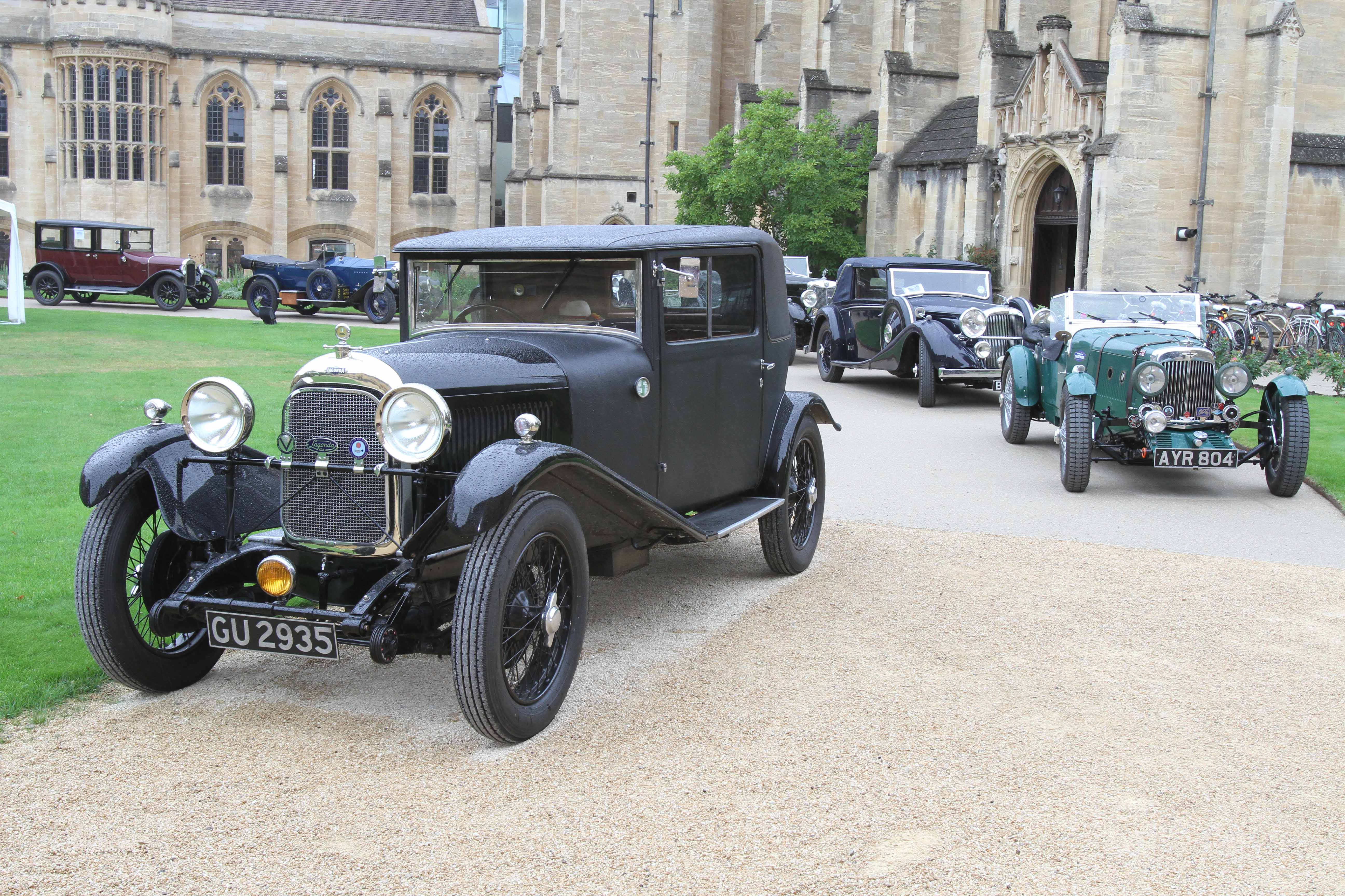 VSCC Oxford Concours & Lunch at Mansfield College cover