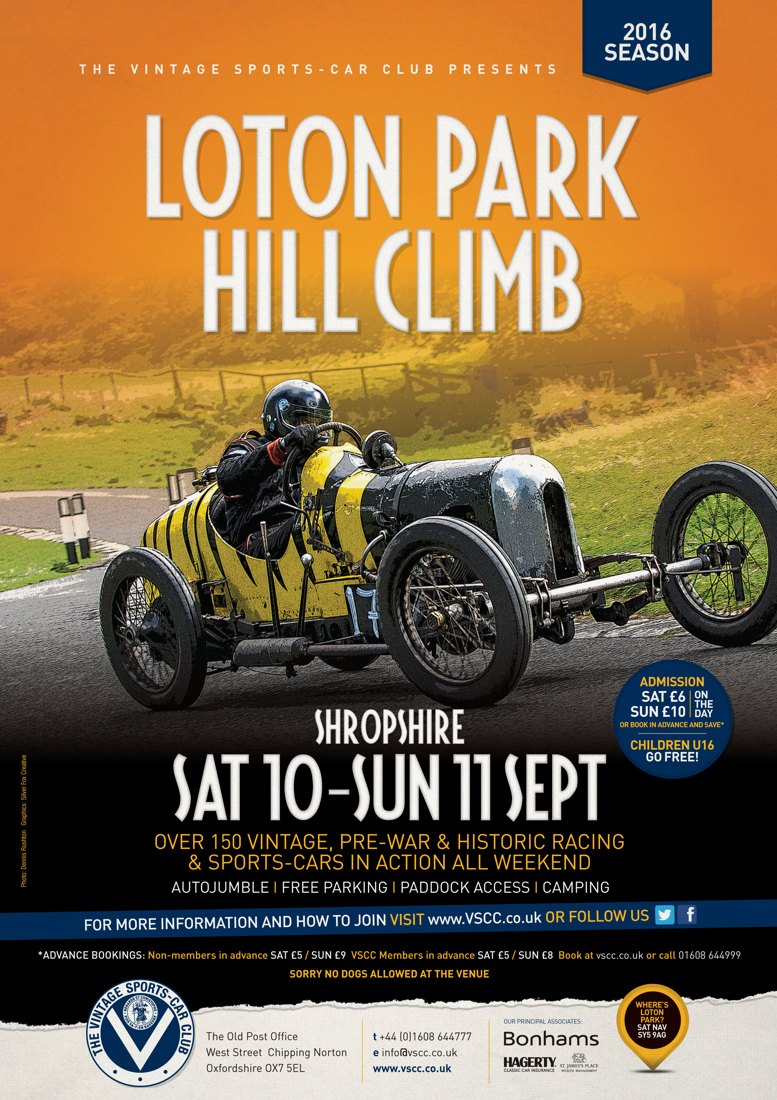 VSCC Loton Park Hill Climb, 10/11 September – Entries Closing Soon  cover