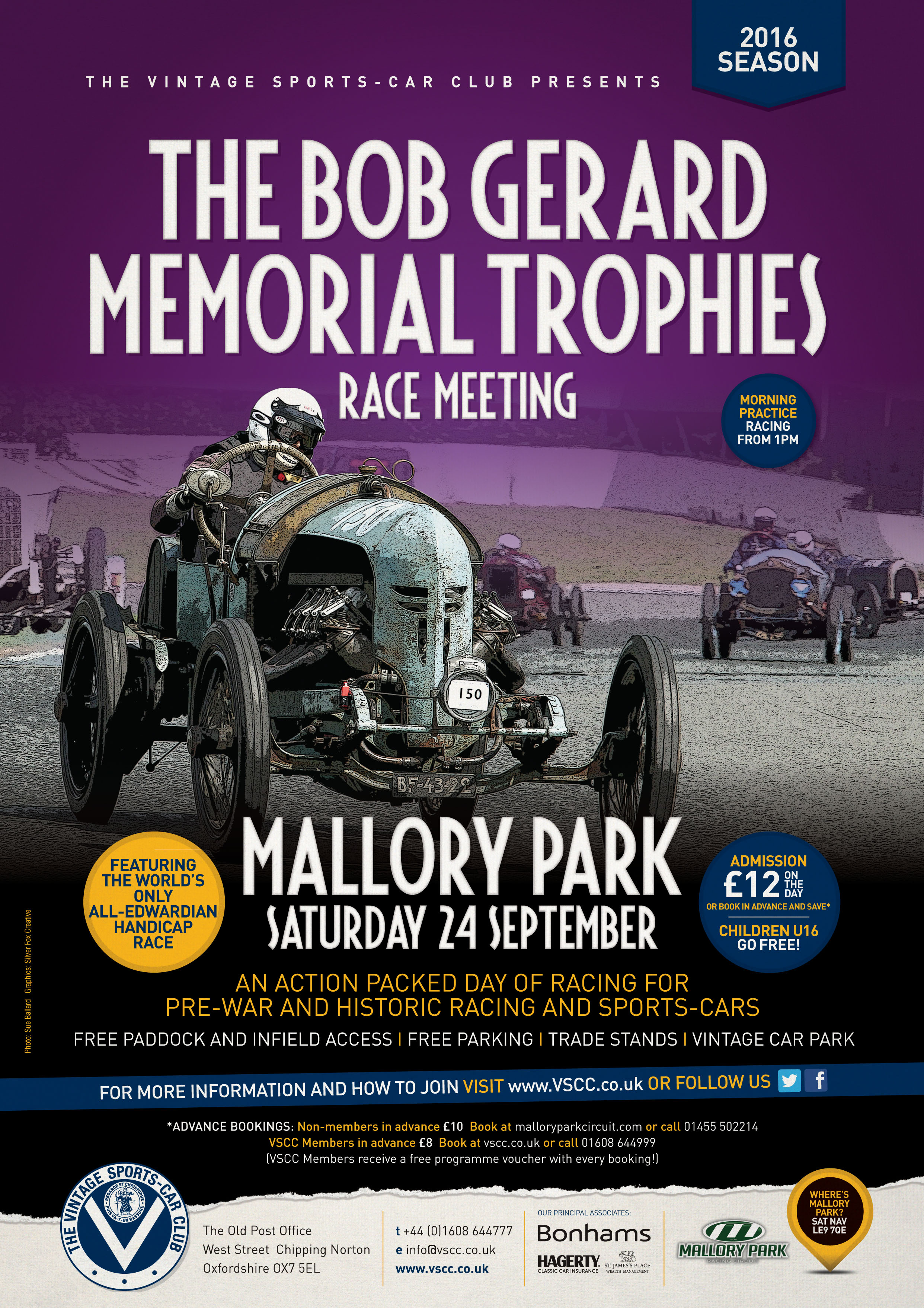 Edwardian Celebrations to headline VSCC Race Season Finale at Mallory Park tomorrow cover