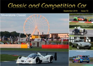 Classic and Competition Car – September 2016 cover