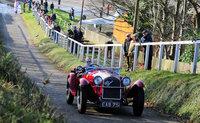 Alex Pilkington on the Hill with Alfa Romeo