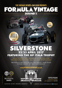 VSCC Formula Vintage_Silverstone 2017