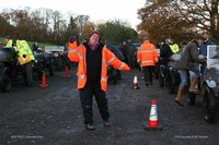 Daft marshalling photo on the Cotswold