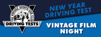 DRIVING TEST HEADER - Vintage Film Night