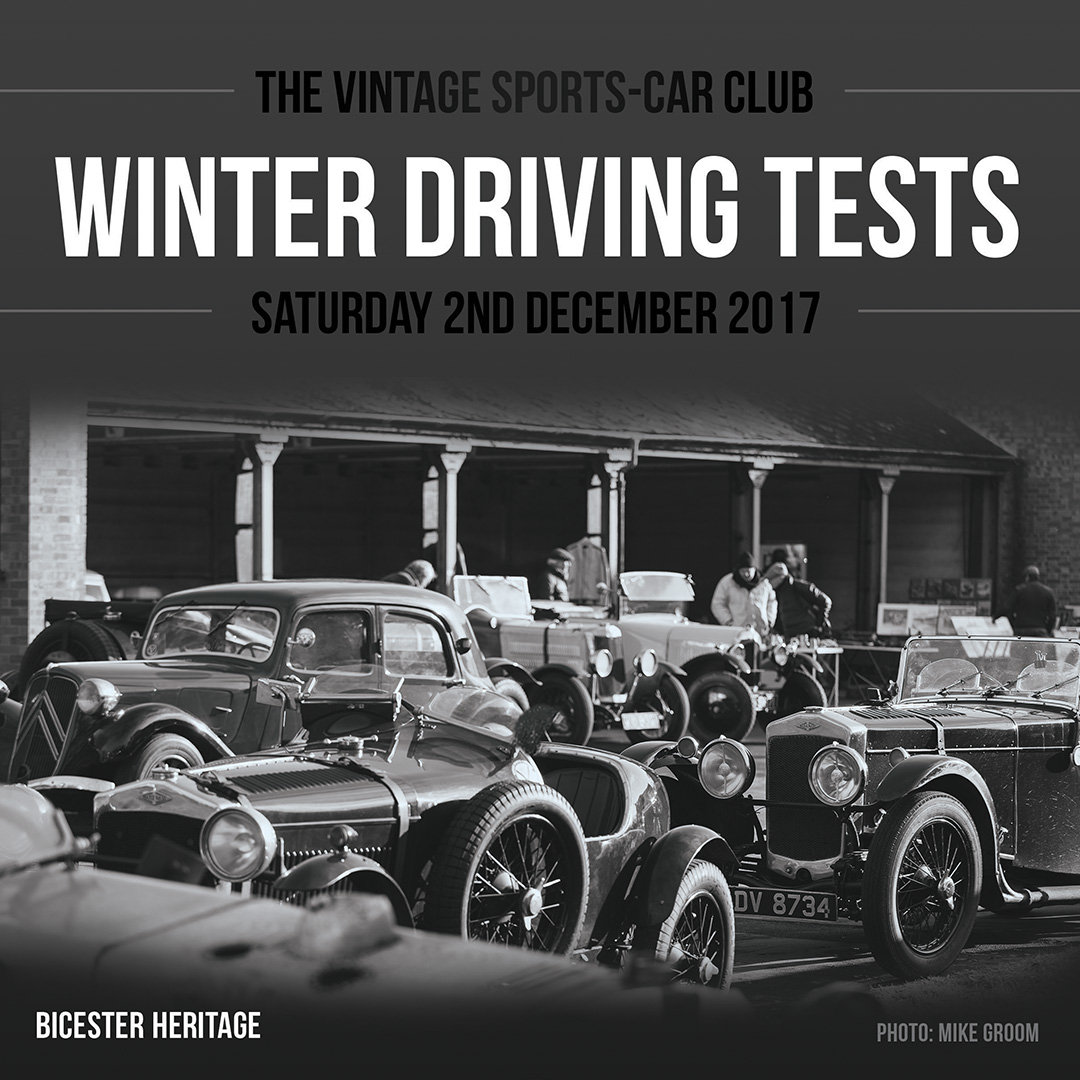 The VSCC Season Concludes this Saturday with The Winter Driving Tests cover