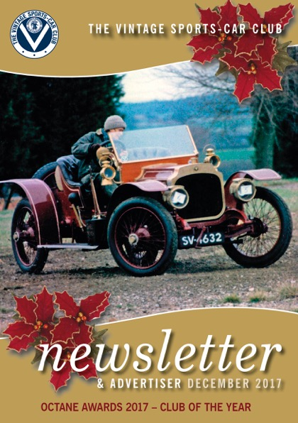 December 2017 Newsletter Now Available to Download cover