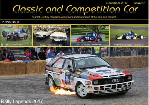 Classic and Competition Car - December 2017 cover