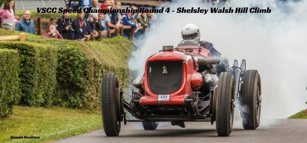 VSCC Speed Championship Round 4 - Shelsley Walsh